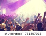 the audience watching the... | Shutterstock . vector #781507018