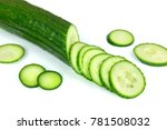 the image of cucumber | Shutterstock . vector #781508032
