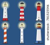 lighthouse  set of lighthouses