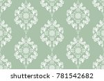 seamless floral wallpaper... | Shutterstock .eps vector #781542682