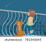 vector illustration of a child... | Shutterstock .eps vector #781543045