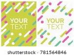 minimalistic design  creative... | Shutterstock .eps vector #781564846