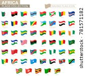 waving flag icon  flags of... | Shutterstock .eps vector #781571182