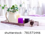 decor in trendy colors  ultra... | Shutterstock . vector #781571446