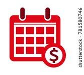 dollar sign money icon | Shutterstock .eps vector #781580746