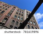 facade of the famous guiness... | Shutterstock . vector #781619896