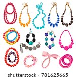 Collection Of Women's Necklace...