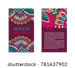 indian style bright colorful