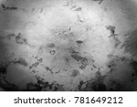 old cracked stone wall... | Shutterstock . vector #781649212