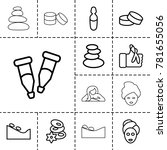 Therapy Icons. Set Of 13...