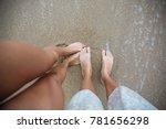 Legs On The Sand