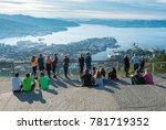 bergen  norway   23 september... | Shutterstock . vector #781719352