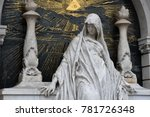 guardian angel protecting a... | Shutterstock . vector #781726348