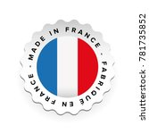 made in france   french... | Shutterstock .eps vector #781735852