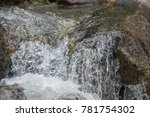 strong boiling of water under... | Shutterstock . vector #781754302