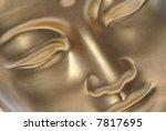 Diagonal Close Up Of Golden...