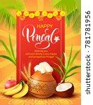 poster design for indian... | Shutterstock .eps vector #781781956