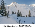 Skiing In The Cascades