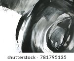 abstract ink background. marble ... | Shutterstock . vector #781795135