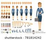character constructor of... | Shutterstock . vector #781814242