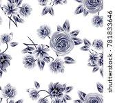 abstract elegance seamless... | Shutterstock .eps vector #781833646
