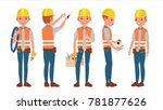 classic electrician. different... | Shutterstock . vector #781877626