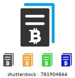 bitcoin price copy icon. vector ... | Shutterstock .eps vector #781904866