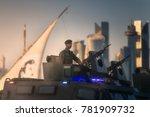 doha  qatar   december 18  2017 ... | Shutterstock . vector #781909732