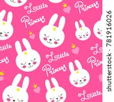 cute baby pattern with little... | Shutterstock .eps vector #781916026