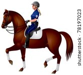 Horse Mounted Police  Female...