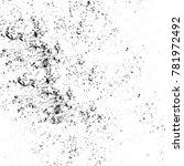 grunge black and white pattern. ... | Shutterstock . vector #781972492