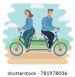 vector cartoon ilustration... | Shutterstock .eps vector #781978036