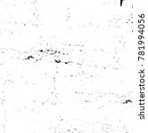 grunge black and white pattern. ... | Shutterstock . vector #781994056