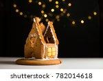 Broken Gingerbread House...