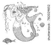 Ocean Goddess. Beautiful Long...