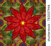 Vector Mandala. Boho Style...