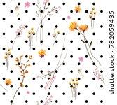 vector seamless pattern wild... | Shutterstock .eps vector #782059435