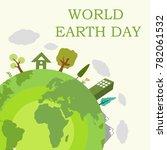 world earth day illustration | Shutterstock .eps vector #782061532