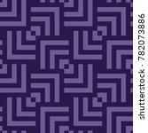 vector seamless pattern. modern ... | Shutterstock .eps vector #782073886