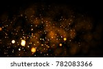 gold abstract bokeh background. ... | Shutterstock . vector #782083366