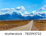fine highway to the majestic... | Shutterstock . vector #782093722