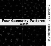 geometry vector pattern | Shutterstock .eps vector #782104942