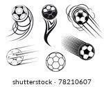 football and soccer symbols ... | Shutterstock .eps vector #78210607