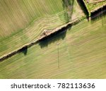 english countryside farm... | Shutterstock . vector #782113636