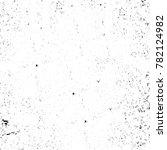 grunge black and white pattern. ... | Shutterstock . vector #782124982