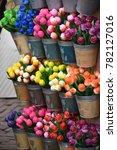 Colorful Ceramic Flowers Market
