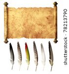 Old Parchment And Collection O...