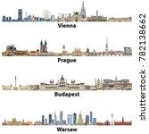 vector city skylines of vienna  ... | Shutterstock .eps vector #782138662