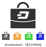 dash accounting case icon....   Shutterstock .eps vector #782139046