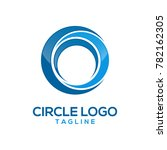 abstract circle logo design | Shutterstock .eps vector #782162305